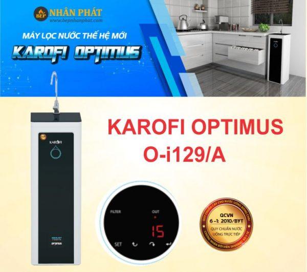 Máy lọc nước Karofi Optimus O-i129A