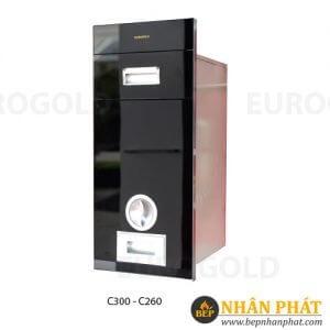 Thùng Gạo Gương Eurogold (Đen-Bạc-Trắng Sữa) C300