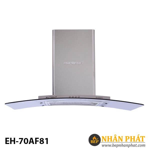 MÁY HÚT MÙI KÍNH CONG EUROSUN EH-70AF81
