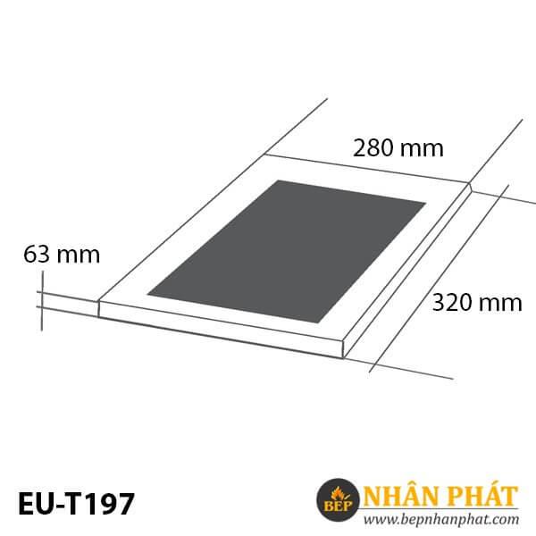 BẾP TỪ ĐƠN EUROSUN EU-T197