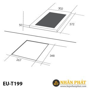 BẾP TỪ EUROSUN EU-T199