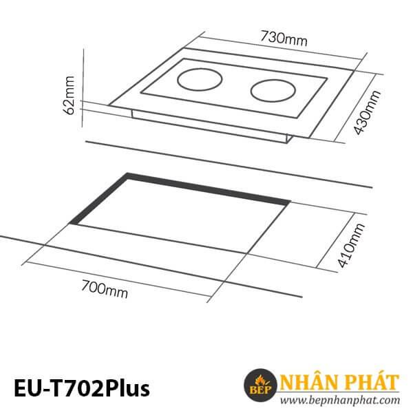 BẾP TỪ EUROSUN EU-T702Plus
