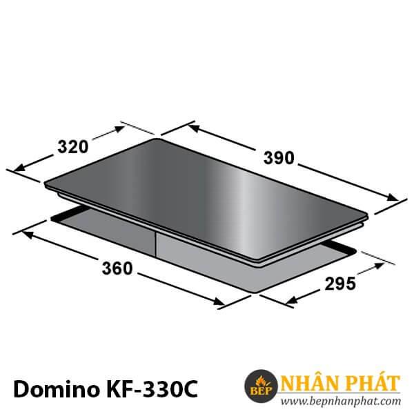 BẾP ĐIỆN TỪ ĐƠN KAFF KF-330C