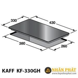 Bếp gas âm KAFF KF-330GH