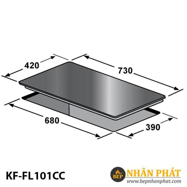 BẾP ĐIỆN TỪ KAFF KF-FL101CC