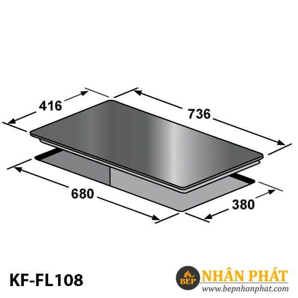 BẾP ĐIỆN TỪ KAFF KF-FL108