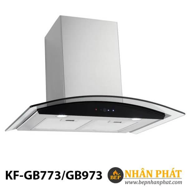 Máy hút mùi kính cong KF-GB773/GB973