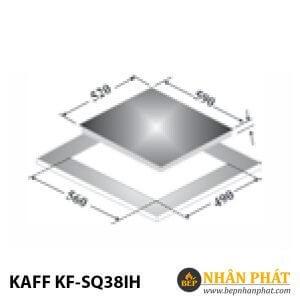 BẾP CẢM ỨNG TỪ KAFF KF-SQ38IH