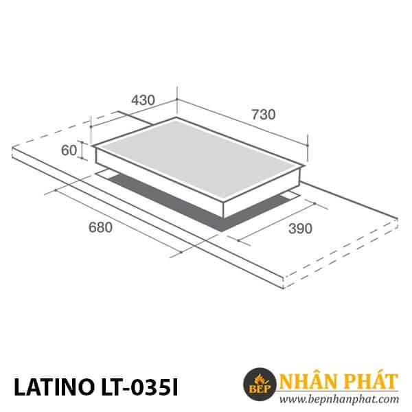 BẾP ĐIỆN TỪ LATINO LT-035I