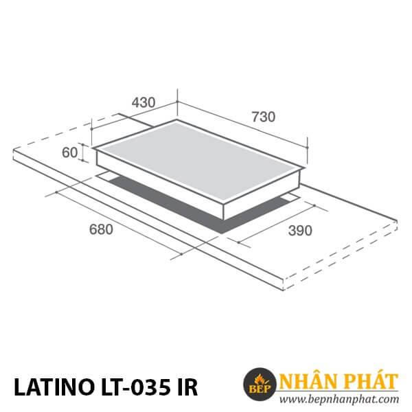BẾP ĐIỆN TỪ LATINO LT-035 IR