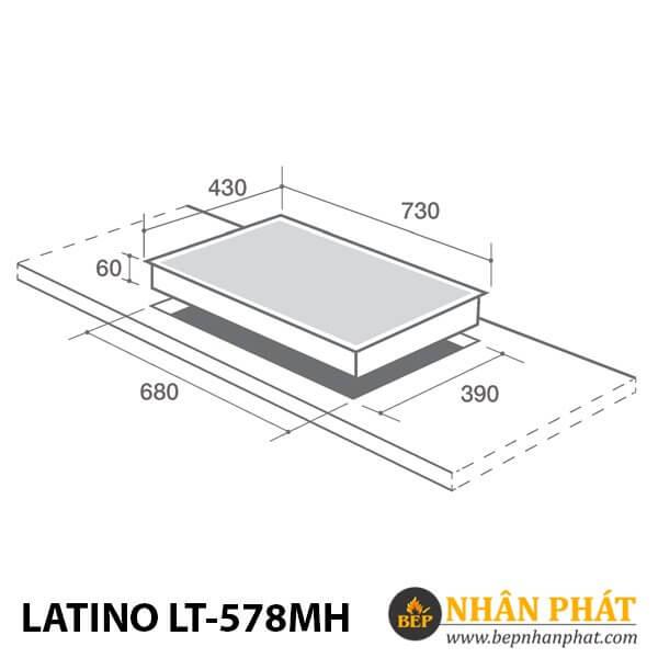 BẾP ĐIỆN TỪ LATINO LT-578MH