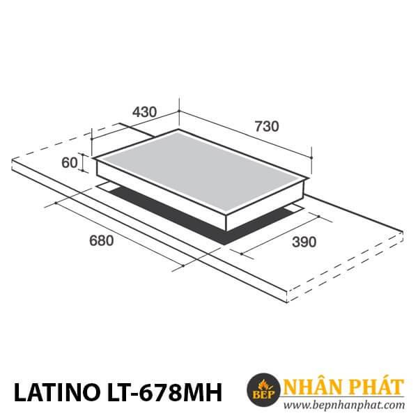 BẾP ĐIỆN TỪ LATINO LT-678MH
