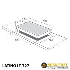 BẾP GAS ÂM LATINO LT-727