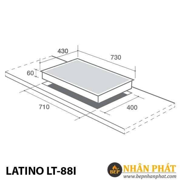 BẾP ĐIỆN TỪ LATINO LT-88I