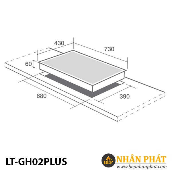BẾP ĐIỆN TỪ LATINO LT-GH02PLUS