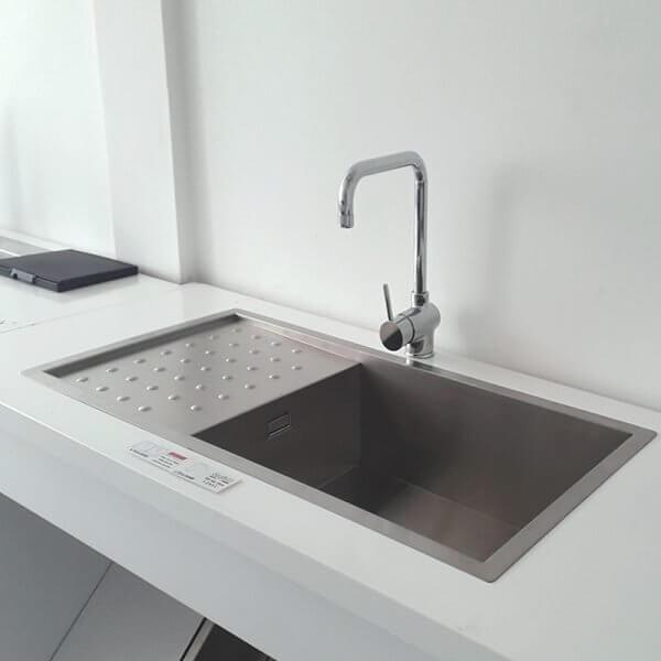 Chậu rửa inox CARYSIL IP-D100 (IB-P01)