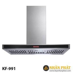 Máy hút mùi kính toa KAFF KF-991