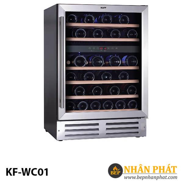 TỦ MÁT RƯỢU KAFF KF-WC01