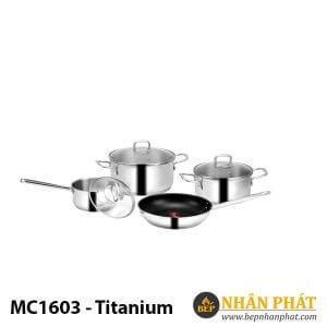 BỘ NỒI EUROSUN INOX MC1603-Titanium