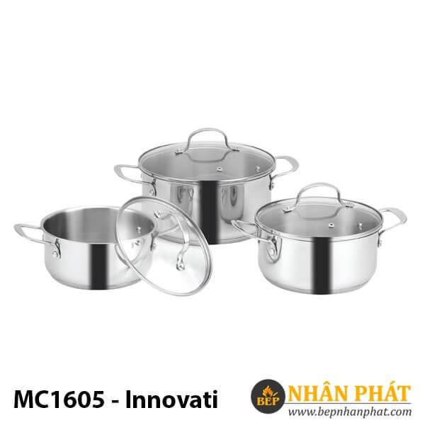 BỘ NỒI EUROSUN INOX MC1605-Innovati