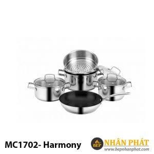 BỘ NỒI EUROSUN INOX MC1702-Harmony