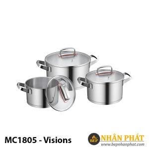 BỘ NỒI EUROSUN INOX MC1805-Visions