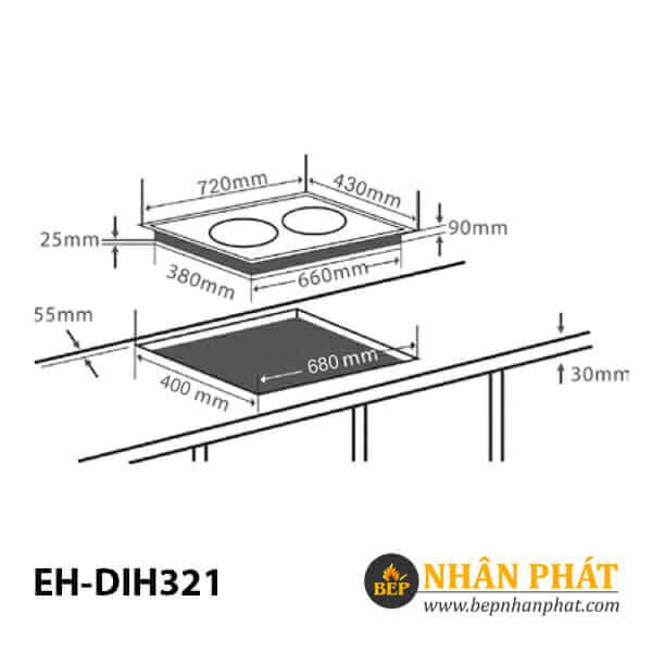 Bếp từ CHEF'S EH-DIH321 5