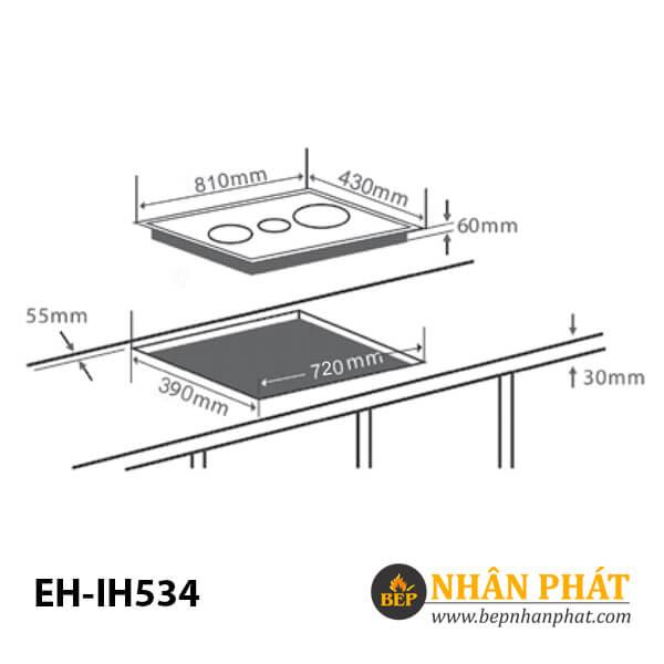 Bếp từ CHEF'S EH-IH534 4