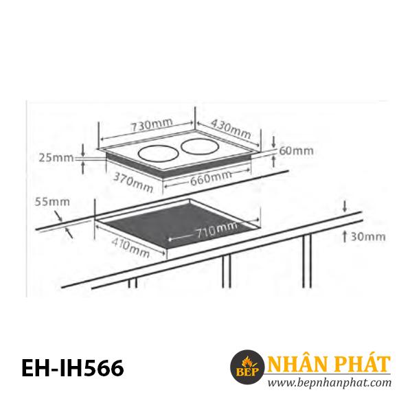 Bếp từ CHEF'S EH-IH566 4