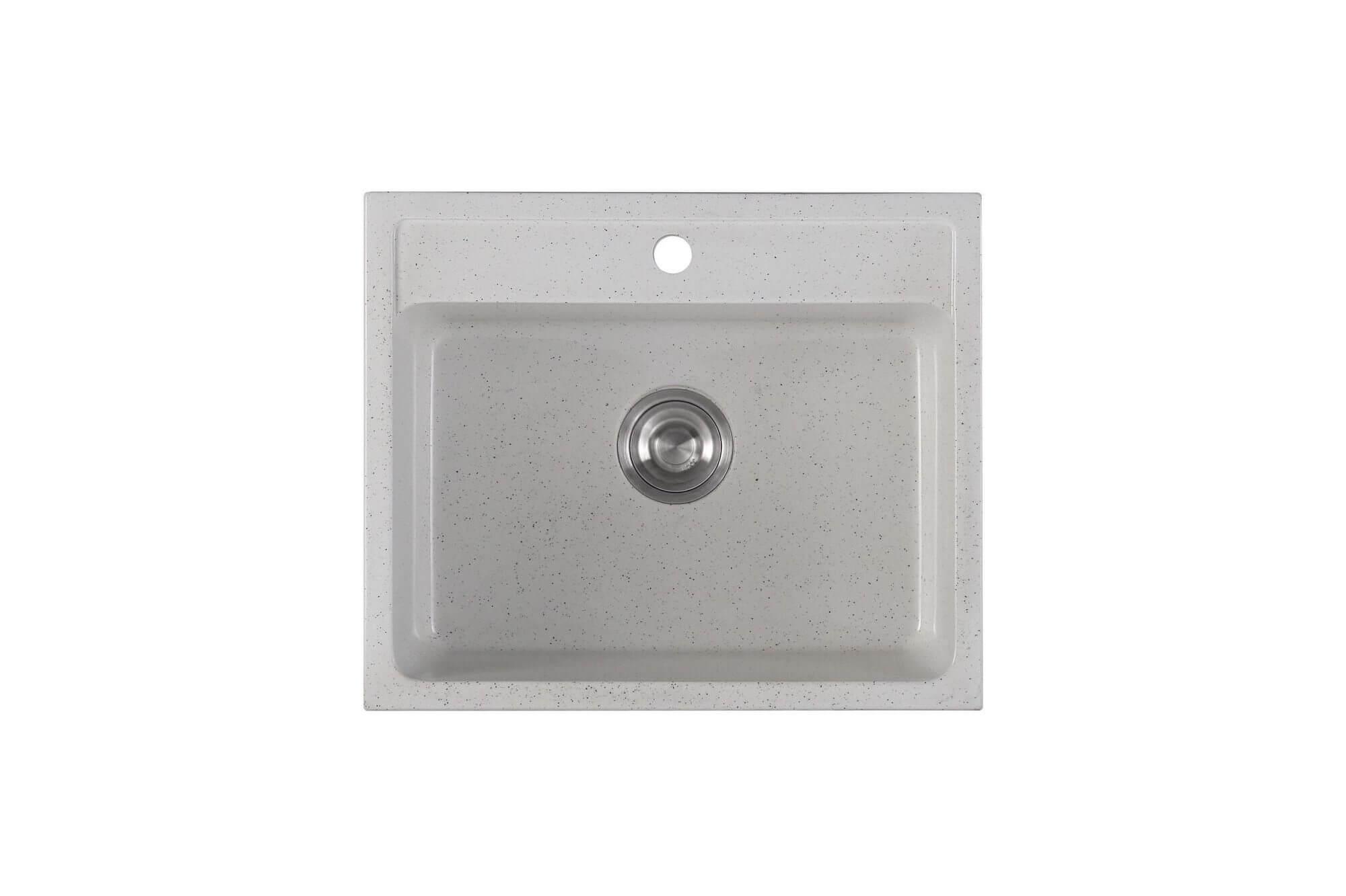 Chậu rửa chén 1 hộc đá nhân tạo IR-5647 6