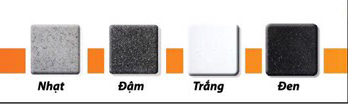 COMBO Chậu rửa chén 2 hộc đá nhân tạo IR-9948 6