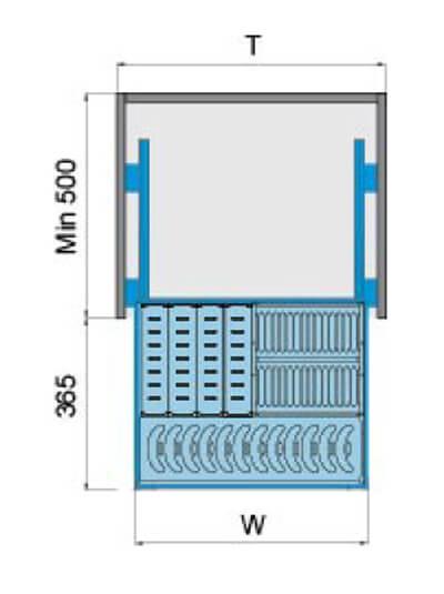 Giá bát đĩa dạng bản inox 304 Higold 303311 5