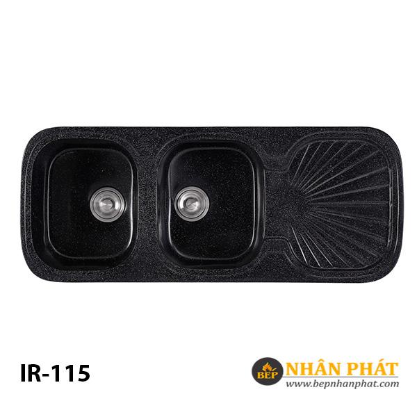 Combo Chậu Rửa Chén 2 Hộc Đá Nhân Tạo IR-115 8