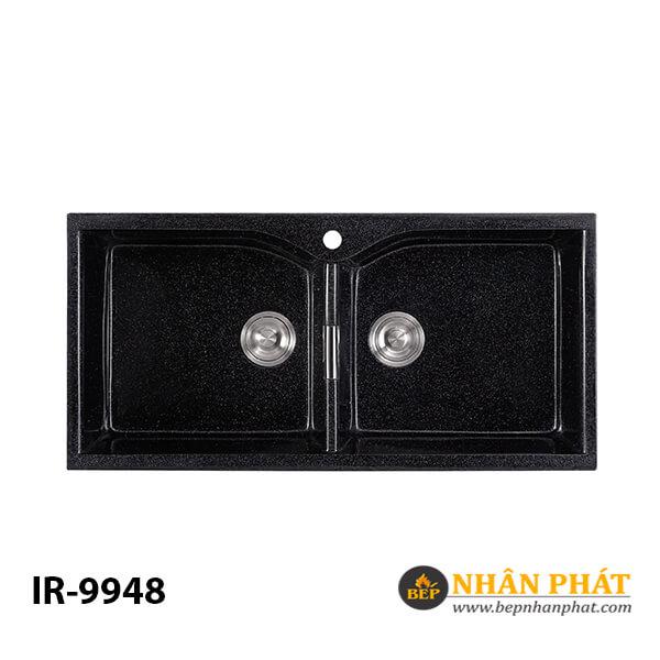 COMBO Chậu rửa chén 2 hộc đá nhân tạo IR-9948 4
