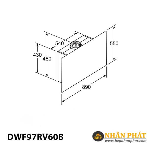 Máy hút mùi gắn tường Bosch HMH.DWF97RV60B Serie 8 - 90cm 5