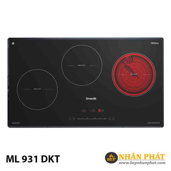 Bếp điện từ kết hợp D'mestik ML 931 DKT 4