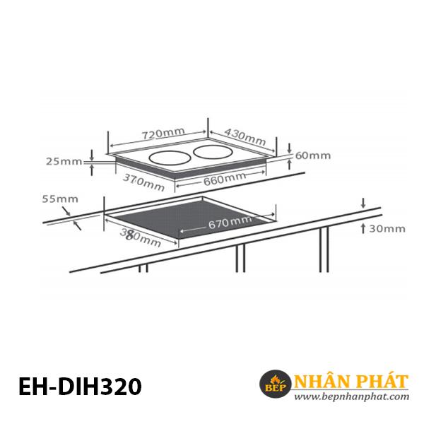 Bếp từ CHEF'S EH-DIH320 5