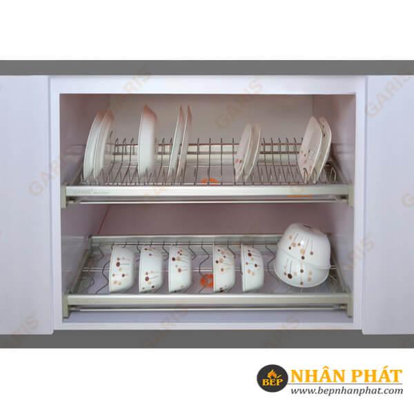 gia-bat-dia-2-tang-co-dinh-nan-tron-inox-304-dien-hoa-garis-gb04-60e-bepnhanphat