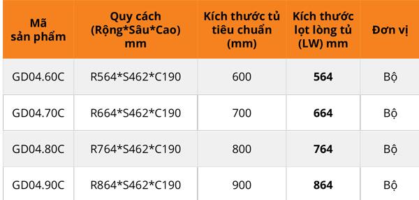 Giá bát đĩa cánh mở nan vuông mạ chrome Garis GD04.60C/GD04.70C/GD04.80C/GD04.90C 5