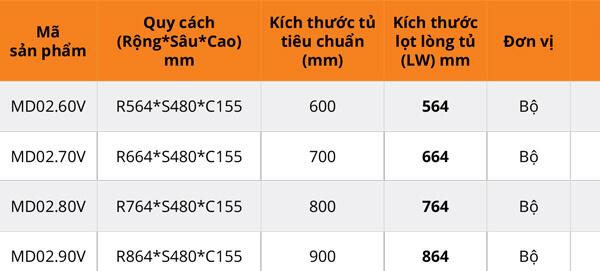 Giá bát đĩa/thìa đũa vách hộp cánh kéo inox 304 Garis MD02.60V/MD02.70V/MD02.80V/MD02.90V 6