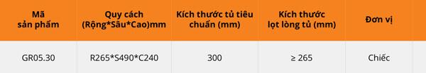 Thùng gạo nhựa abs cao cấp 1 khoang 10kg cánh kéo/mở Garis GR05.30 6