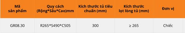 Thùng gạo nhựa abs cao cấp 1 khoang 25kg cánh kéo/mở Garis GR08.30 6