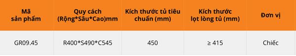 Thùng gạo nhựa abs cao cấp 3 khoang 30kg cánh mở Garis GR09.45 6