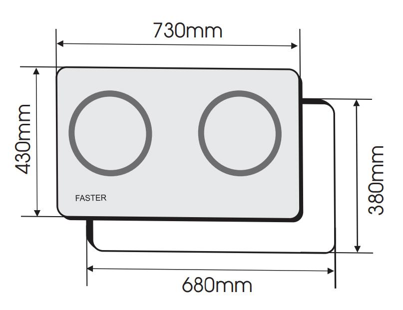 BẾP TỪ FASTER FS 688I 4