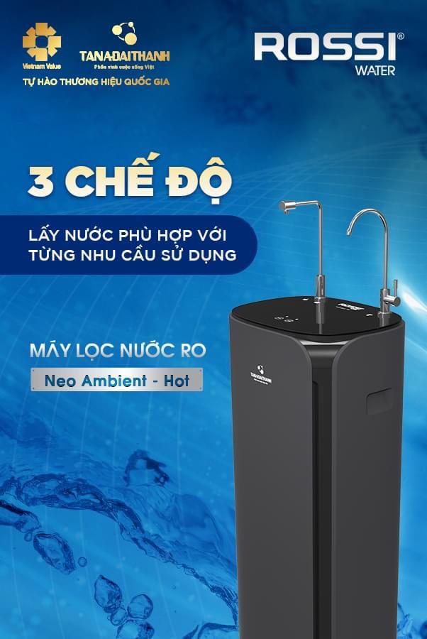 Máy lọc nước RO Tân Á Đại Thành Neo Ambient - HOT 10 lõi 5