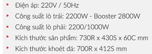 BẾP ĐIỆN TỪ EUROSUN EU-TE509Max 7