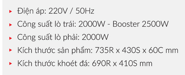 BẾP TỪ EUROSUN EU-T256Max 7