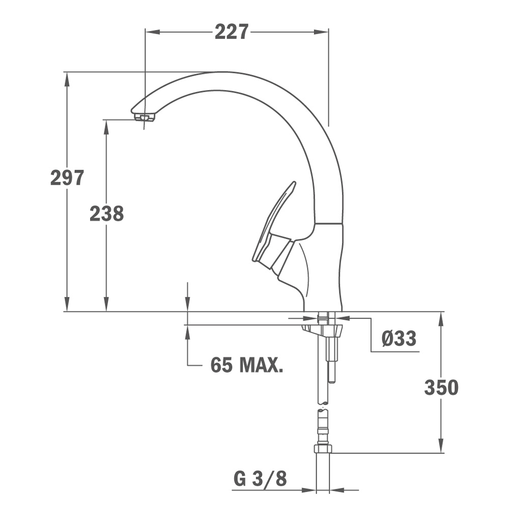 Vòi rửa chén NL thau xi Teka MC 10 PLUS 4