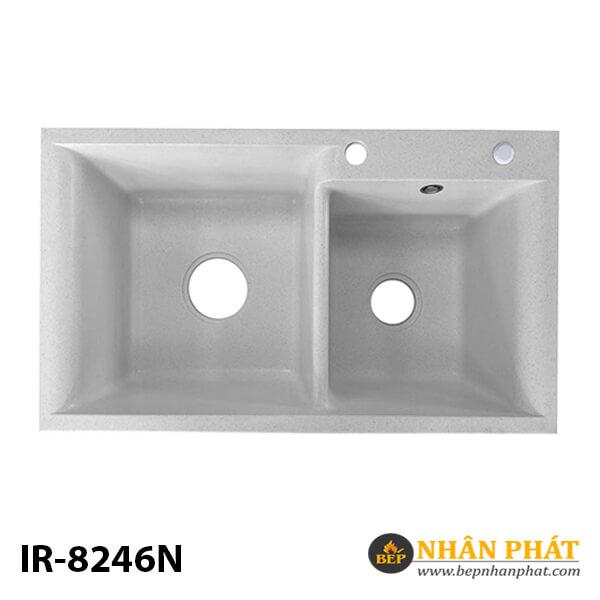 Chậu rửa chén đá nhân tạo 2 hộc nhập khẩu IR-8246N 5