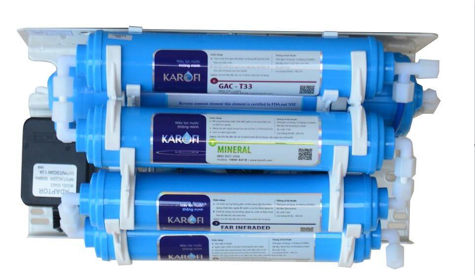 Hướng dẫn chi tiết thời gian, cách thay lõi lọc nước KAROFI tại nhà chuẩn chuyên gia 2